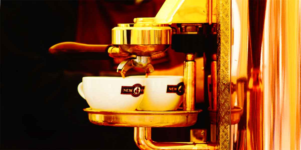 la Pavoni coffee maker