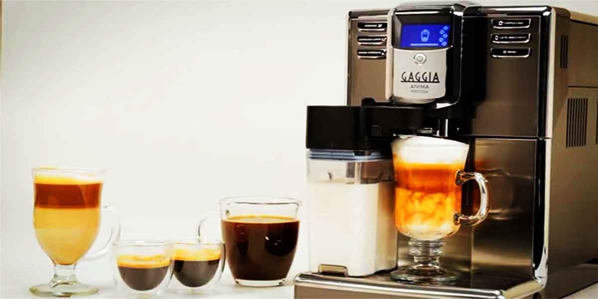 coffee machine cappuccino